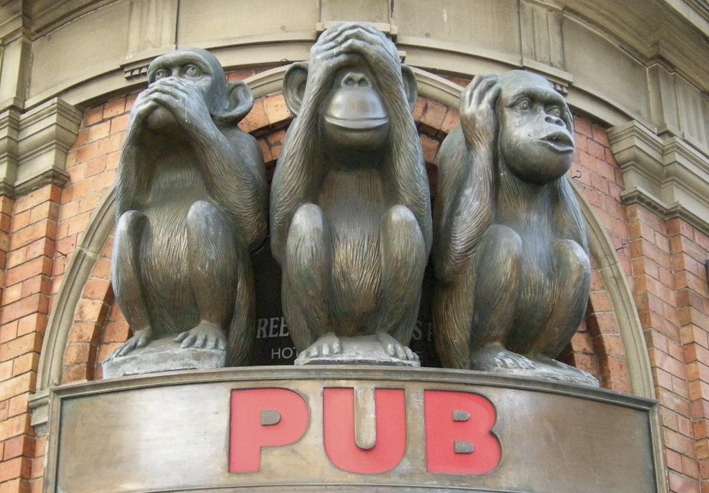 3 Wise Monkeys Pub Sydney - © Arnaud VAREILLE